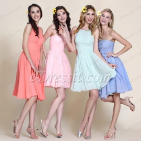 eDressit Fashion Cute Short Bridesmaid Dresses