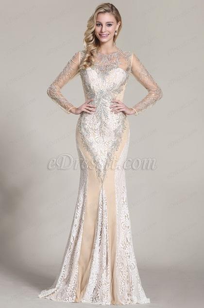 This Stunning Beaded Prom Dress Make YouFashion