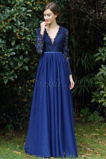 http://www.edressit.com/edressit-long-sleeves-blue-plunging-v-neck-lace-dress-00170905-_p4920.html