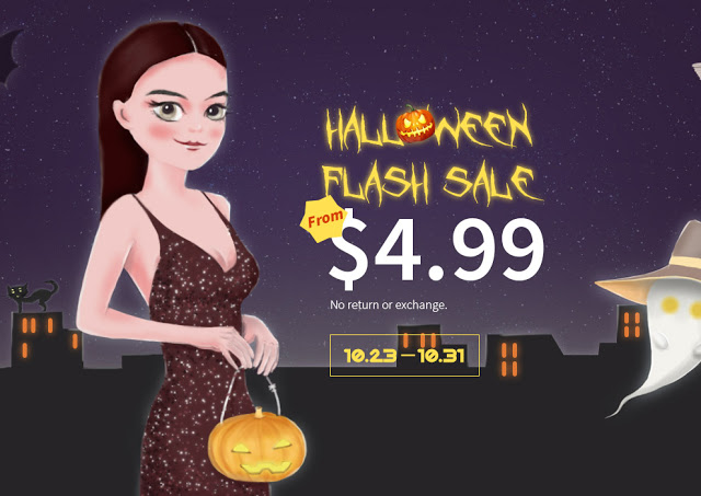 halloween sale dresses