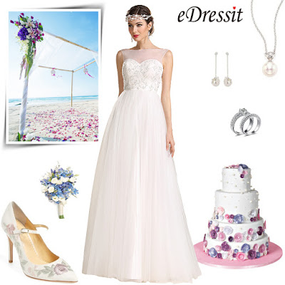 sleeveless illusion sweetheart wedding dress
