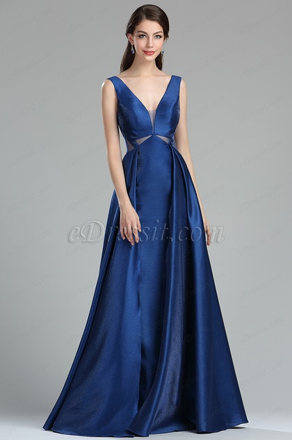 eDressit Fancy Blue Occasion Evening Dress for Women