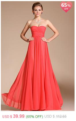 Strapless Pleated Evening Dress Bridesmaid Dress