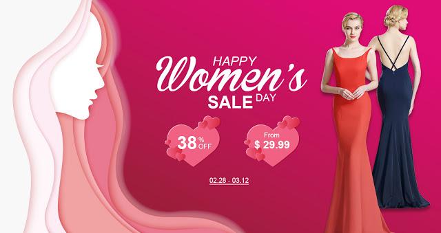 happy women's day dress sale