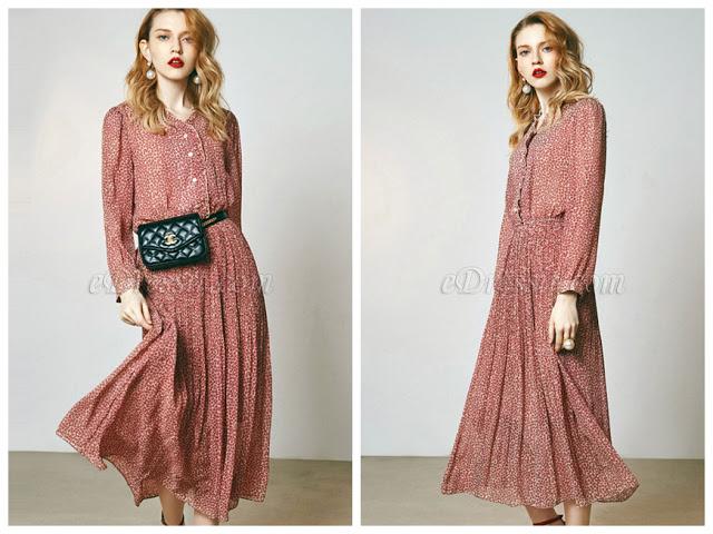 Women Fashion Long Shirt Dress Day Dress