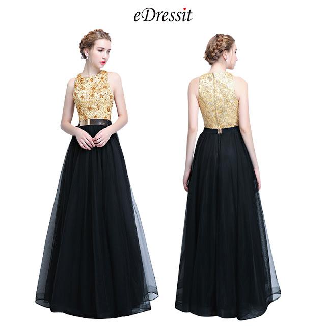 Sexy Sleeves Beaded Bodice Party Prom Dress