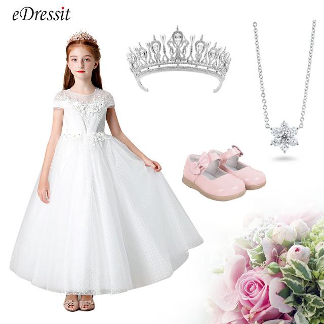 High Quality Wedding Flower Girl Dress